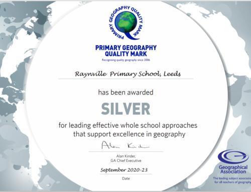 Geography Silver Award!